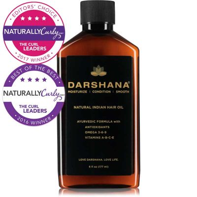 Darshana natural indian hair oil 6 oz. bottle
