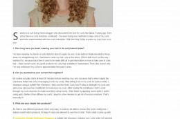 Beauty of the Week Sandra Darshana Curls Understood™
