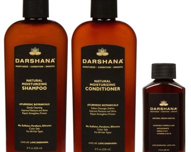 Darshana Shampoo, Conditioner, and 2 oz. hair oil bundle