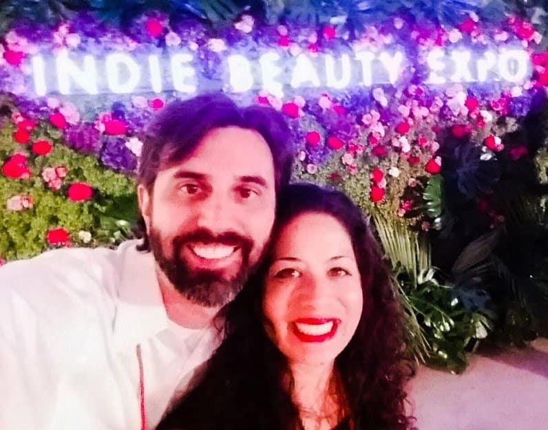 Darius & Shana at the Indie Beauty Expo in Los Angeles
